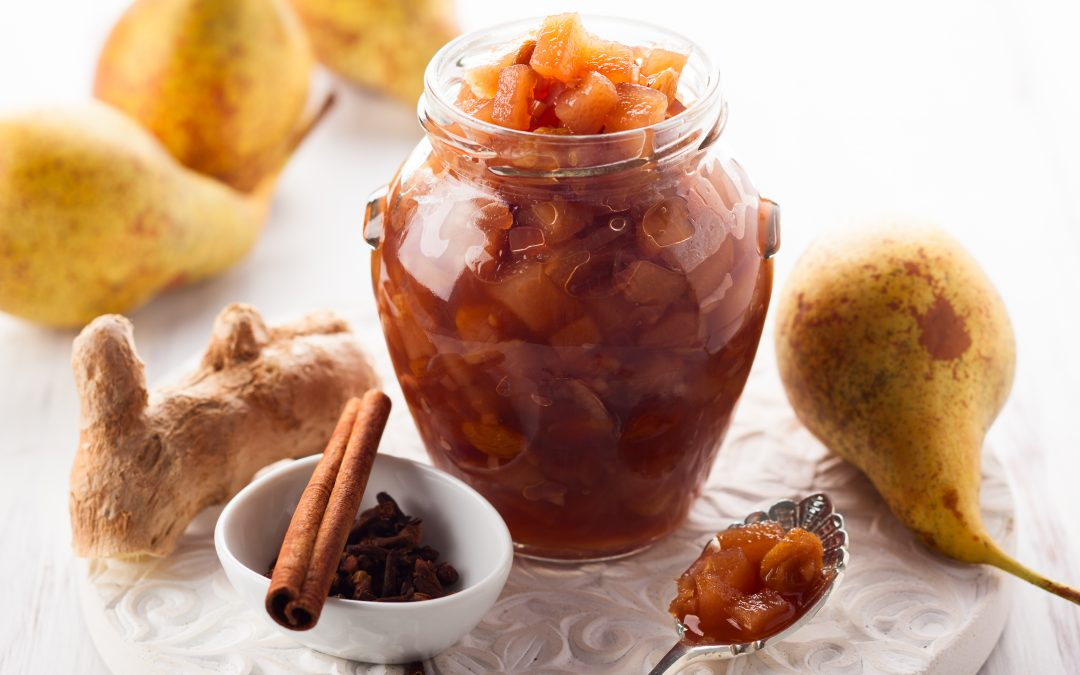 Saucy Spiced Pears