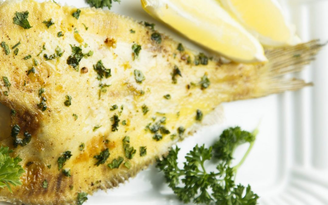 Pan Seared Halibut with Lemon Butter Sauce