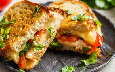 Farmer's Market Grilled Cheese Sandwiches